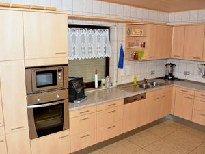 Unser Schützen Domizil verfügt über eine gut ausgestattete Küche.