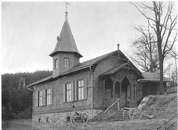 Das erste Schützenhaus der SG-Haiger an der Donsbacher Strasse in Haiger